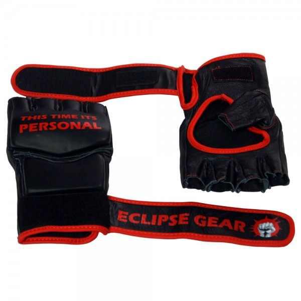 כפפות MMA מקצועיות מעור אמיתי חברת Eclipse