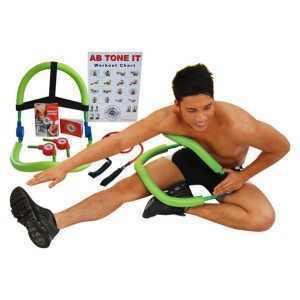 מכשיר כושר רב תכליתי לעיצוב שרירי הבטן האגן והירכיים מדגם AB TONE IT