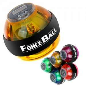 כדור כח ג'ורוסקופי Force Ball עם מונה + שרוך אבטחה