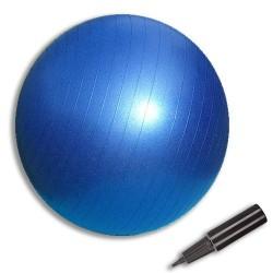 """כדור כושר 65 ס""""מ עם משאבה ידנית"""