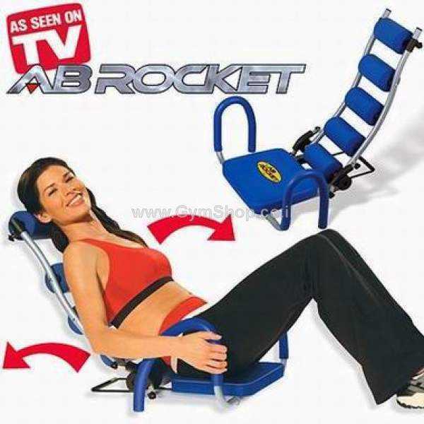 אב רוקט - AB Rocket - מכשיר לעיצוב שרירי הבטן (כולל דיסק + חוברת)