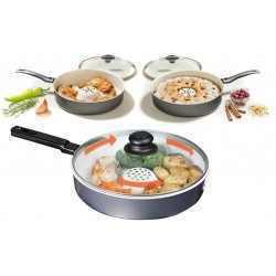 דריי קוקר Dry Cooker EXTRA ECO  מחבת בישול ללא שמן בקטרים שונים