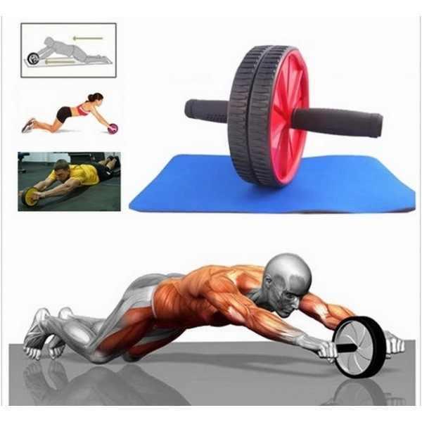 גלגל כפול להתעמלות בטן