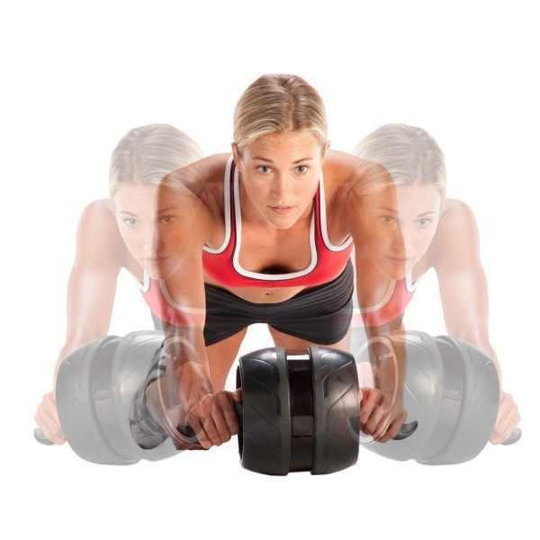 גלגל בטן מקצועי כולל ספוגים לברקיים מדגם AB Carver PRO