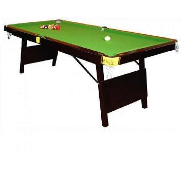 שולחן ביליארד מתקפל 6 פיט פולו