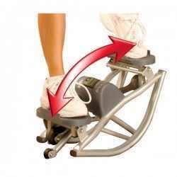 סטפר לחיזוק שיווי משקל  וחיטוב פלג גוף התחתון מדגם ROCK & ROLL