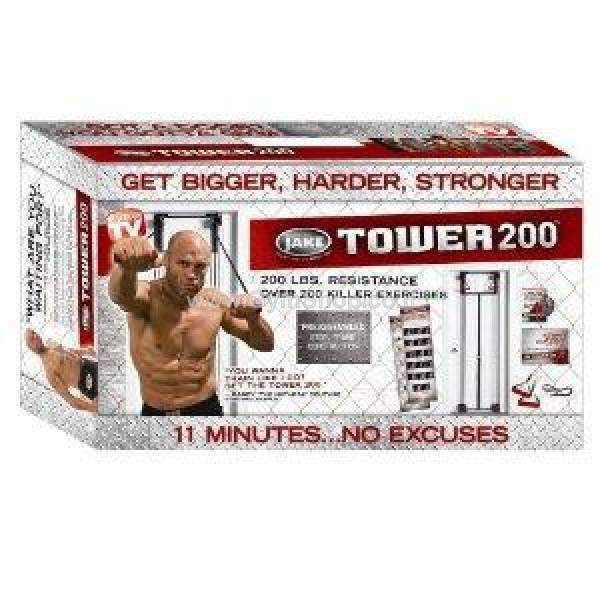 מולטי טריינר בייתי בדגם TOWER 200 (פוסטר עם תרגילים - מתנה)