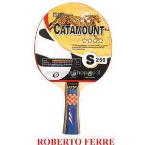 מחבט פינג פונג מקצועי 4 כוכבים CATAMOUNT